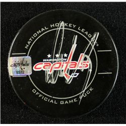 Alexander Ovechkin Signed Official Game Hockey Puck (Capitals COA)