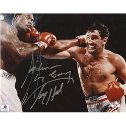 Larry Holmes & Gerry Cooney Signed 8x10 Photo (GA COA)