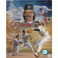 Dennis Eckersley Signed 8x10 Photo (AR COA)