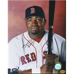 David Ortiz Signed Red Sox 8x10 Photo (Tracercode)