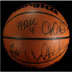 2002-03 Duke Blue Devils Team Signed Basketball: Krzyzewski, Reddick, Duhon, Jones (PA LOA)