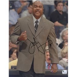 John Thompson Jr. Signed Georgetown 8x10 Photo (GA COA)