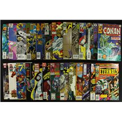 Lot of (26) Comic Books: Superman, Batman, X-Men, Star Wars, Captain America, Spider Man
