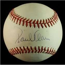 Paul Blair Signed OAL Baseball (AR COA)
