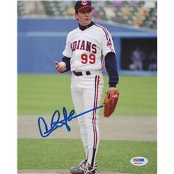 "Charlie Sheen Signed ""Major League"" 8x10 Photo (PSA COA)"