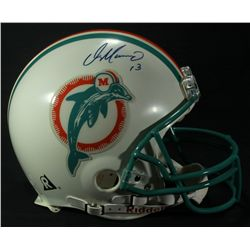 Dan Marino Signed Dolphins Full-Size Authentic On-Field Helmet (JSA COA)