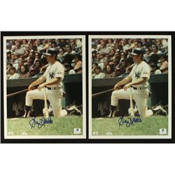Lot of (2) Graig Nettles Signed Yankees 8x10 Photos (GA COA)