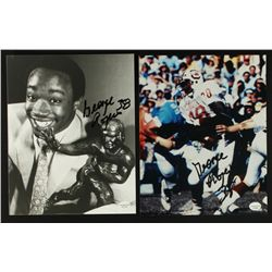 Lot of (2) George Rogers Signed South Carolina Photos (Online Hologram)
