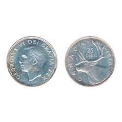 1948. Mint State-63. Brilliant. The reverse is in exceptional gem condition.
