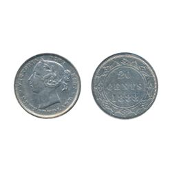 1881. ICCS Very Fine-20. 1885. ICCS Fine-15. 1888. ICCS Very Fine-20. Lot of three (3) coins.