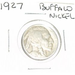 1927 Buffalo Nickel *PLEASE LOOK AT PICTURE TO DETERMINE GRADE - NICE COIN*!!
