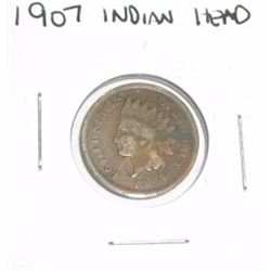 1907 Indian Head Penny *PLEASE LOOK AT PICTURE TO DETERMINE GRADE - NICE COIN*!!