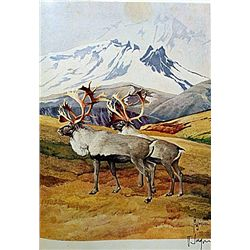ORIGINAL SIGNED LITHOGRAPH BY ARTIST FRANCIS LEE JAQUES