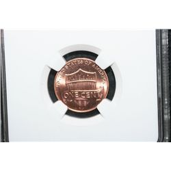 2010-D Lincoln-Union Shield Penny; NGC Graded Brilliant Uncirculated