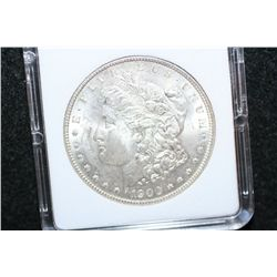1900 Silver Morgan $1; MCPCG Graded MS61
