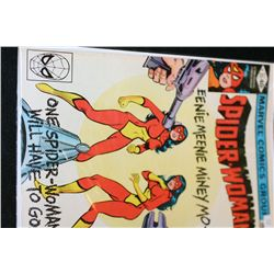 """1980 Marvel Comics Group; Spider-Woman """"Eenie Meenie Miney Mo--One Spider-Woman Will Have To Go!"""" Ed"""