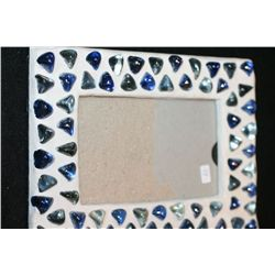 Glass Bead & Plaster Frame