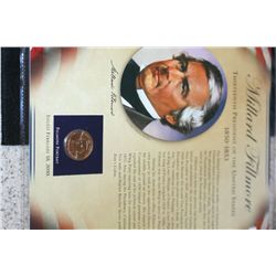 2010 US Presidential Millard Fillmore-13th President $1 Coin