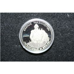 1982 George Washington Commerative Half Dollar; 250th Anniversary of Birth; 90% Silver .4019 Oz.