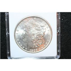 1900 Silver Morgan $1; MCPCG Graded MS62