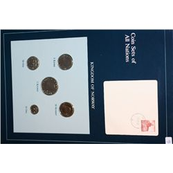 Kingdom of Norway; Coin Sets of All Nations W/Postal Stamp Dated 1983