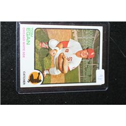 1973 MLB T.C.G. Tom Egan-Chicago White Sox Baseball Trading Card