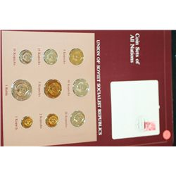 Union of Soviet Socialist Republics; Coin Sets of All Nations W/Postal Stamp Dated 1983