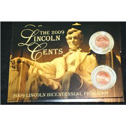2009 Lincoln-Presidency Penny Set; P&D Mints; UNC