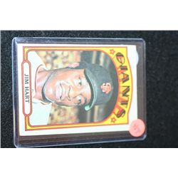 1972 MLB T.C.G. Jim Hart-San Francisco Giants Baseball Trading Card