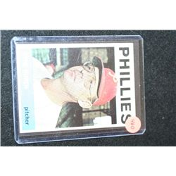1964 MLB T.C.G. Ryne Duren-Philadelphia Phillies Baseball Trading Card