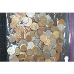 US & Foreign Coins & Tokens; Various Dates, Conditions & Denominations; Lot of 150