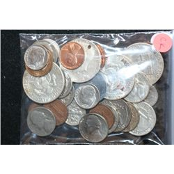 Misc. Coins-Some Silver; Various Dates, Conditions & Denominations; Lot of 38
