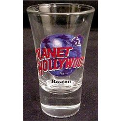 Planet Hollywood BOSTON Shot Glass RARE