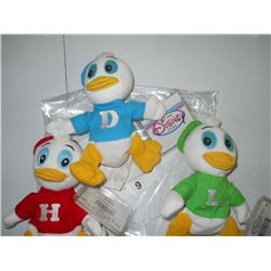 Huey-Dewey-Louie Bean Bag Toys
