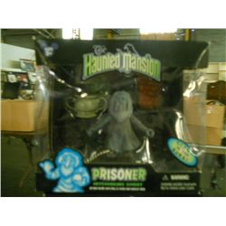 Haunted Mansion Prisoner Hitchhicking Ghost glow in dark in box