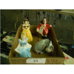 Misc. Lot of Disney Figurines (4)