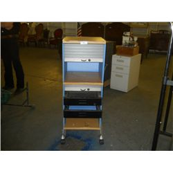 """Roller Away Cabinet approx 16 1/2"""" x 17 1/2"""" H 45 1/2"""""""