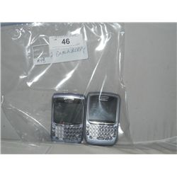 2-Black Berry Phones No Cords