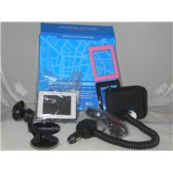 Satellite Navigation System Nextar Touch Screen voice prompt in box complete with charger &  suction