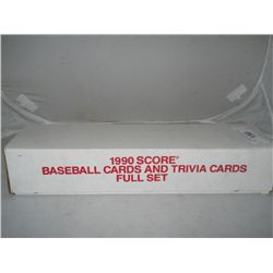 1990 Score Baseball Cards &amp; Trivia Cards