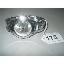 Chrome brand mens watch