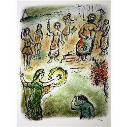 Marc Chagall Limited Edition Lithograph from L'Odyssée Suite