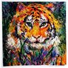 Leroy Neiman  Signed Lithograph - Portrait of the Tiger