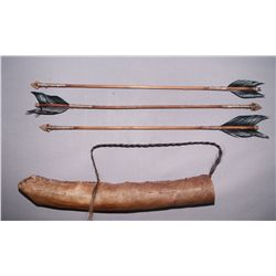 SOUTH WEST STYLE ARROW AND QUIVER