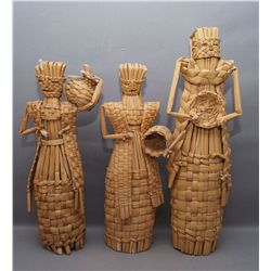 3 MEXICAN FIGURES