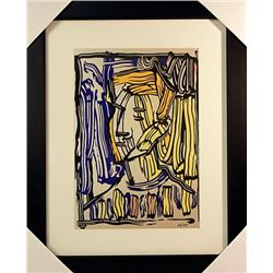 Roy Lichtenstein Limited Edition-Portrait II