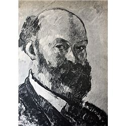 Original Lithograph by Artist Paul Cezanne