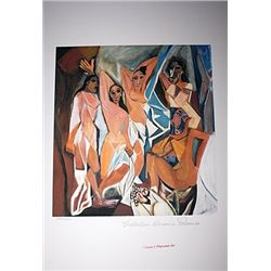Limited Edition Picasso - The Women of Avignon - Collection Domaine Picasso