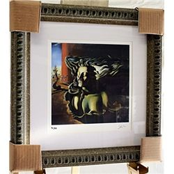 Salvador Dali Signed Limited Edition - The Dream