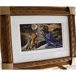 Salvador Dali Signed Limited Edition - From Tristan and Isolde